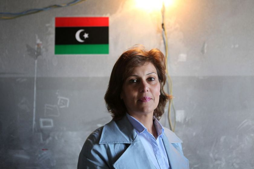 Salwa Bughaghis Libya