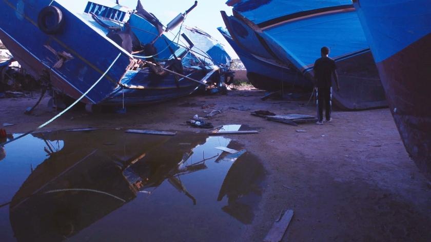 Shipwreck, Morgan Knibbe